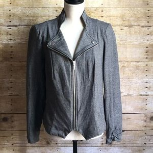 Light weight jacket • Black & White • Casual • Med